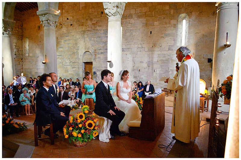 wedding ceremony italian church
