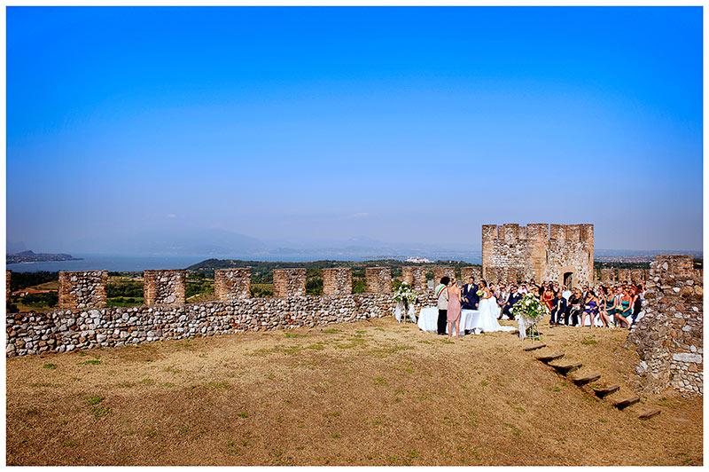 castello lonato wedding over looking lake garda italy