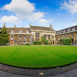 christs college cambridge wedding venue