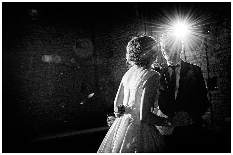 Tythe Barn Bicester Wedding first dance