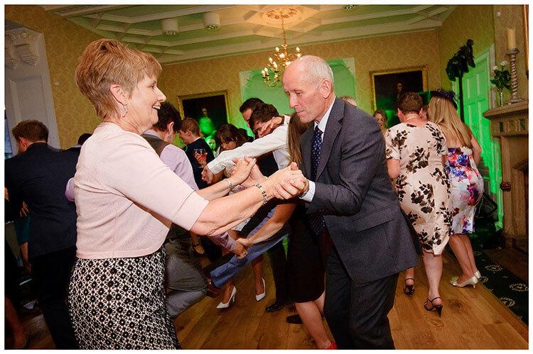 old guests dancing