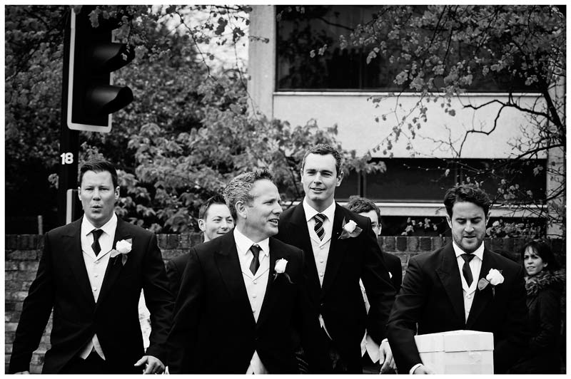 OLEM Church Wedding Cambridge grooms men