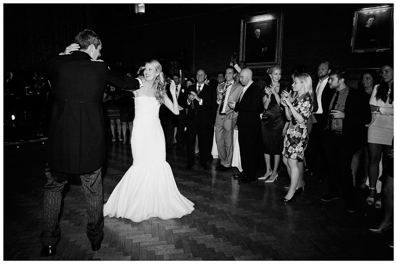 bride and groom elaborate first dance