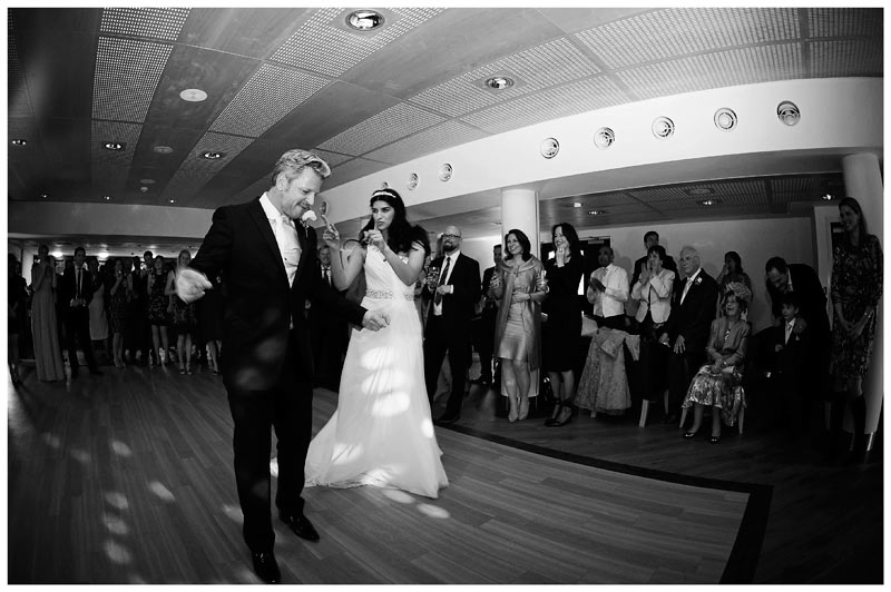 bride groom elaborate first dance