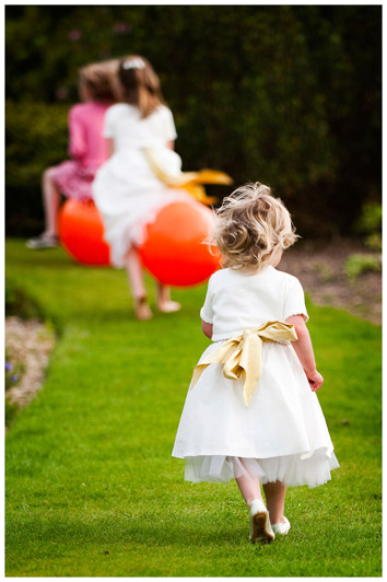 flower girl in pursuit