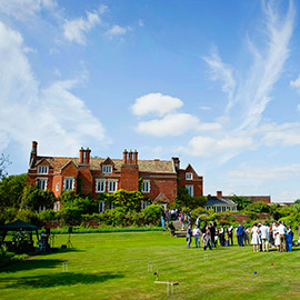 cambridgeshire wedding venue childerley hall