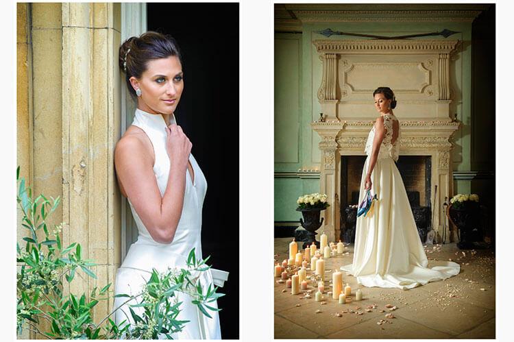 styled wedding shoot island hall