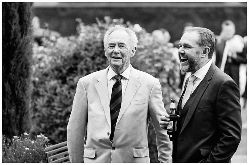 laughter chippenham park wedding