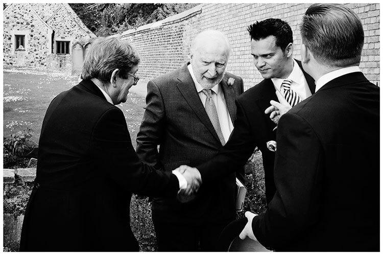 Hartford Church Wedding guest introductions