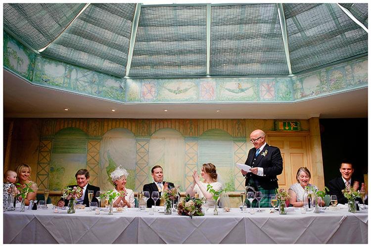 Old Bridge Hotel Wedding speeches
