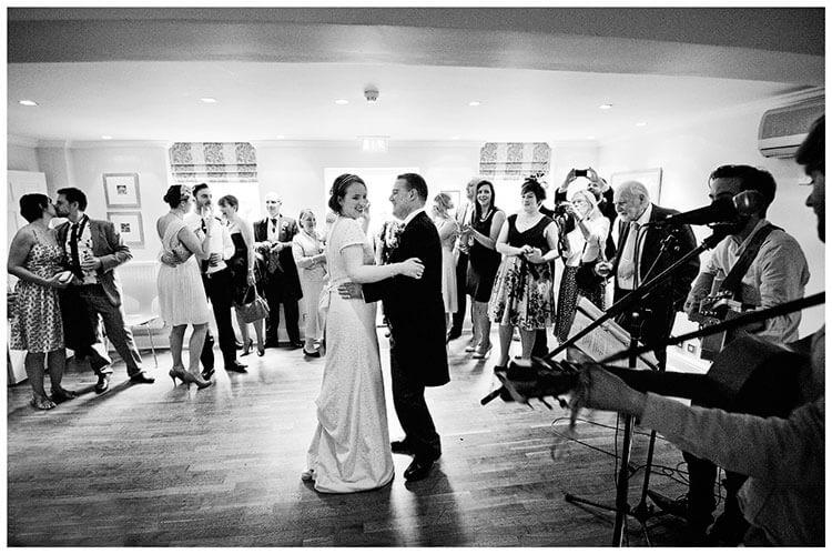 Old Bridge Hotel Wedding first dance