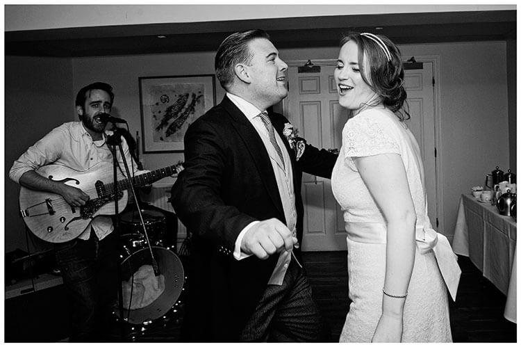 Old Bridge Hotel Wedding first dance guitarist