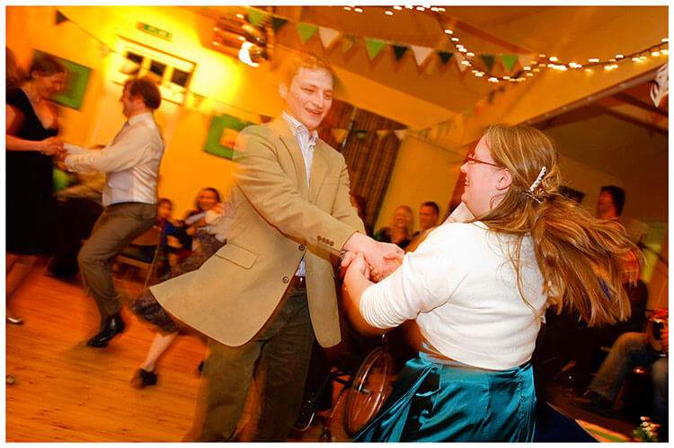Anglesey Abbey wedding dancing round and round