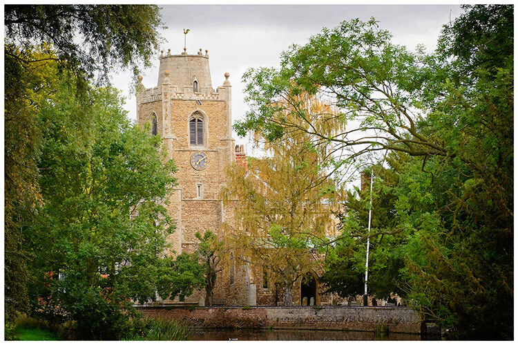 Hemingford Grey wedding church
