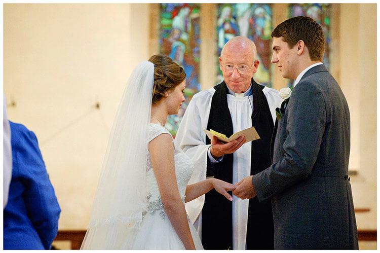 Hemingford Grey wedding ceremony