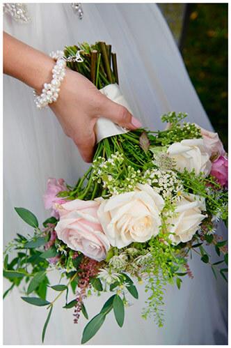 Hemingford Grey wedding bridal bouquet