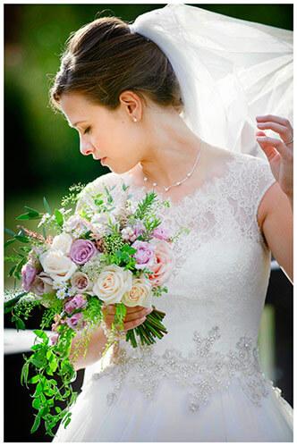 belfry hotel wedding bride portrait