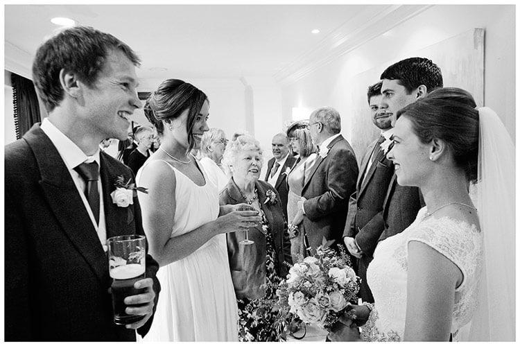 belfry hotel wedding receiving line