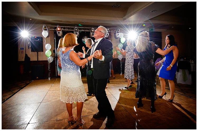 belfry hotel wedding dancing