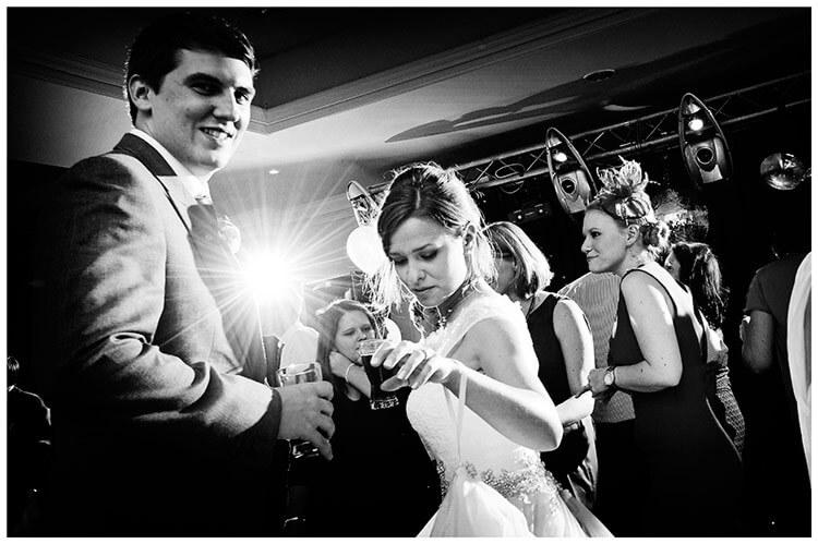 belfry hotel wedding full dance floor