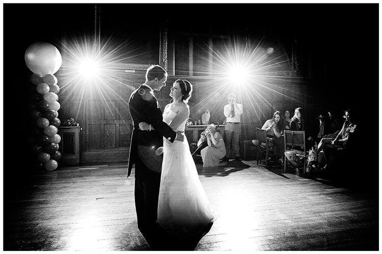 Emmanuel College wedding first dance