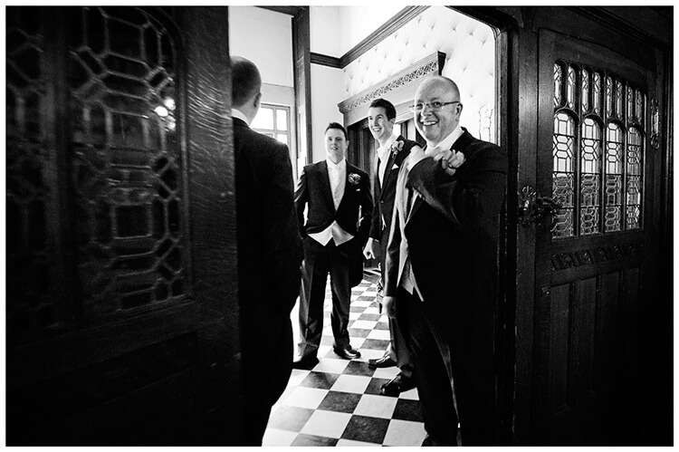 Fanhams Hall wedding ushers