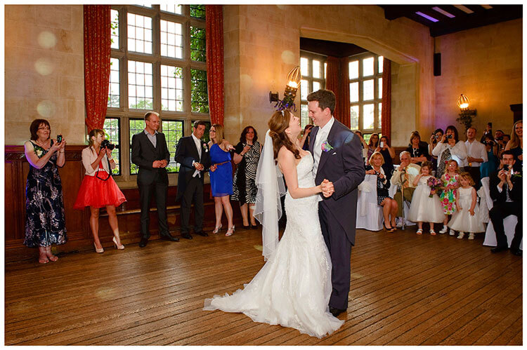 Fanhams Hall wedding first dance