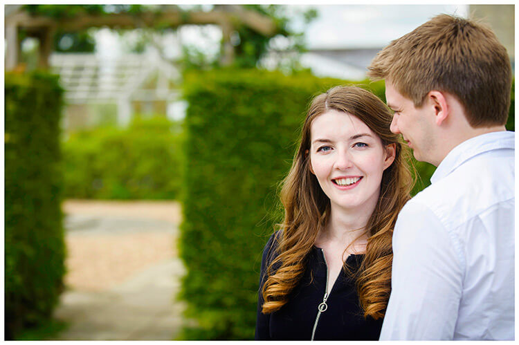 Friars Court Oxfordshire Pre-Wedding Photoshoot  romantic tender moment