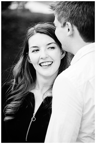 Friars Court Oxfordshire Pre-Wedding Photoshoot  romantic moment girl smiling