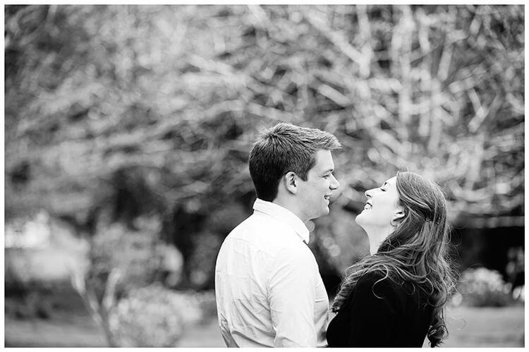 Friars Court Oxfordshire Pre-Wedding Photoshoot  romantic couple laugh