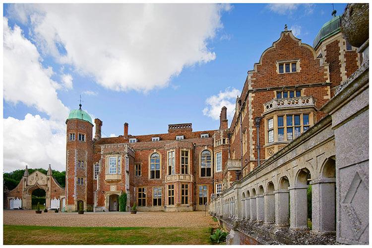 Madingley Hall Wedding venue
