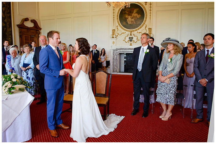 Madingley Hall Wedding ceremony