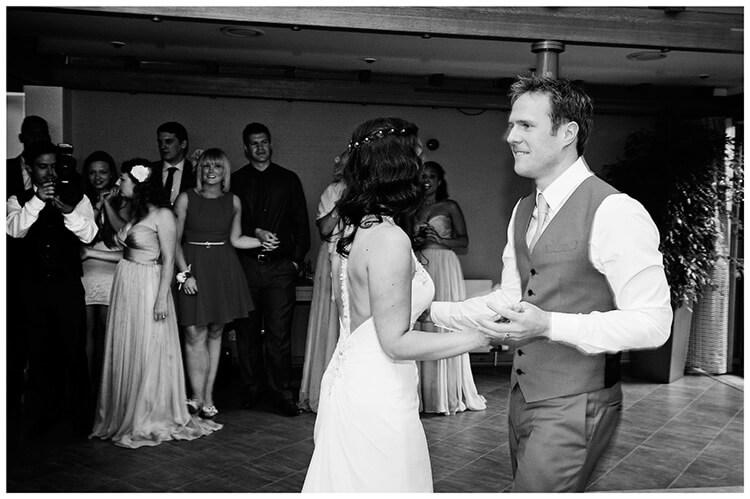 Madingley Hall Wedding bride groom first dance