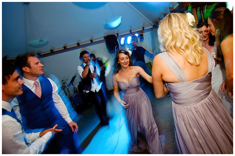 Madingley Hall Wedding on the dance floor