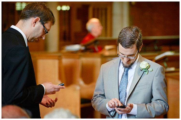 Michaelhouse wedding groom best man turn off phones