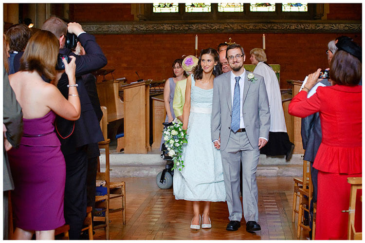 Michaelhouse wedding ceremony over
