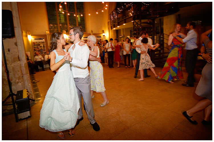 Michaelhouse wedding bride groom embrace on dance floor
