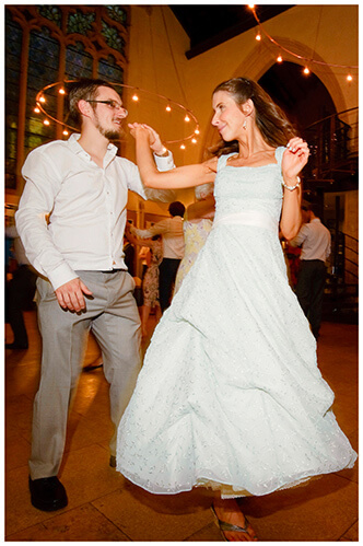 Michaelhouse wedding bride groom dancing