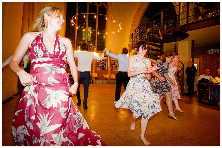 Michaelhouse wedding ladies dancing ceilidh