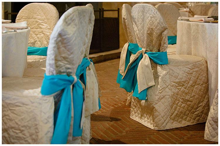 Castel di Poggio wedding chairs