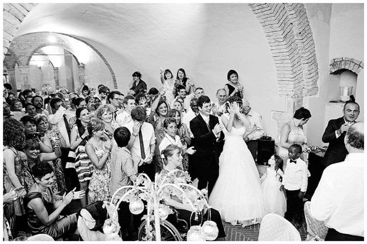 Castel di Poggio wedding speeches