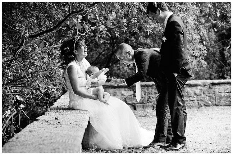 Castel di Poggio wedding special family moment