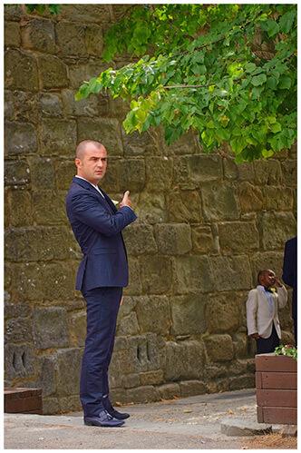 Fraternita di Romena wedding bestman