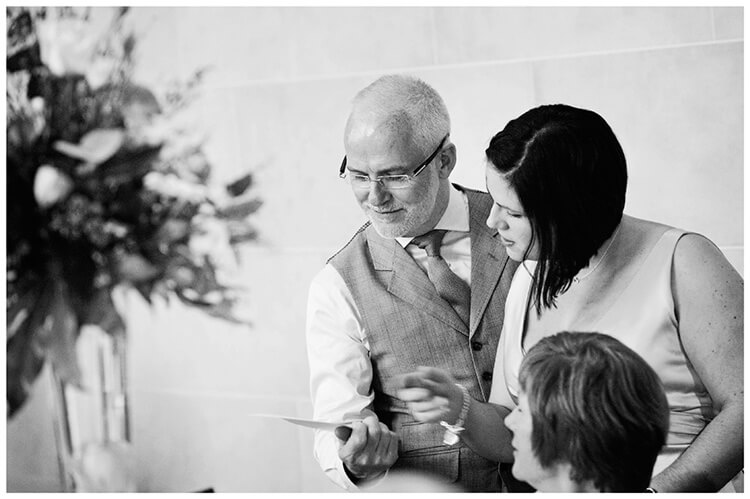 Woburn Sculpture Gallery wedding message