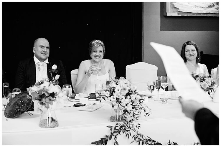 Woburn Sculpture Gallery wedding speeches