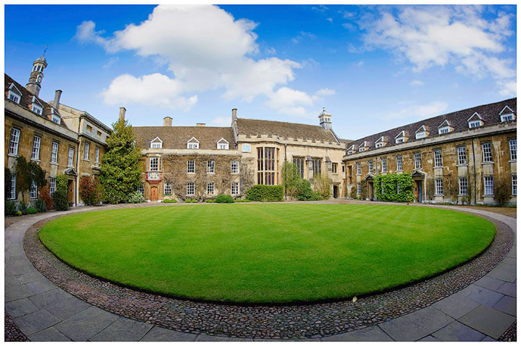 Christ's College wedding venue