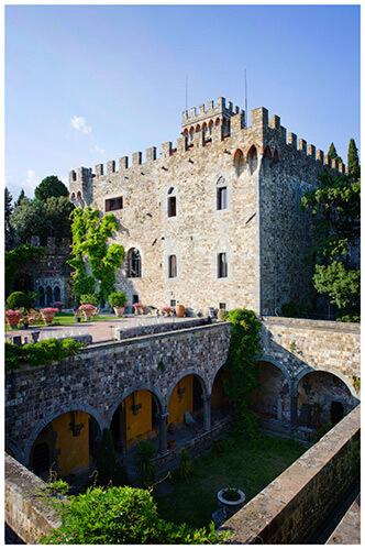 Castello di Vincigliata wedding venue