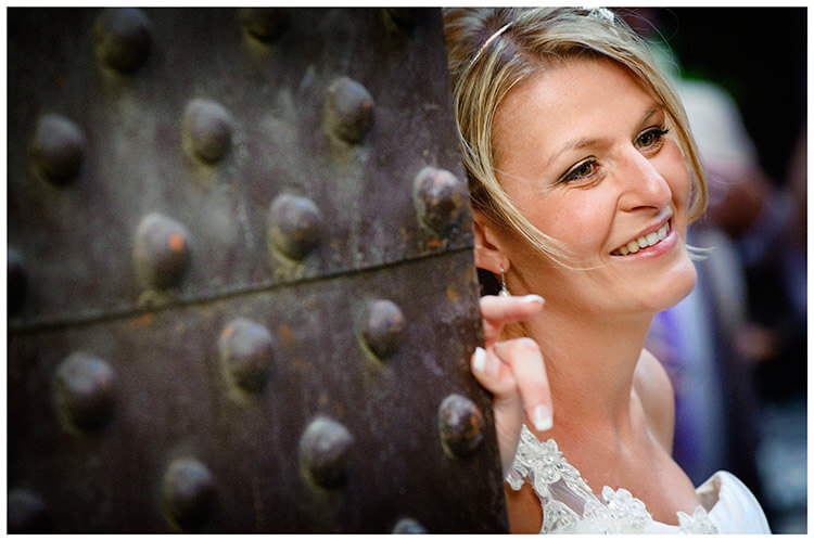 Castello di Vincigliata wedding bride portrait