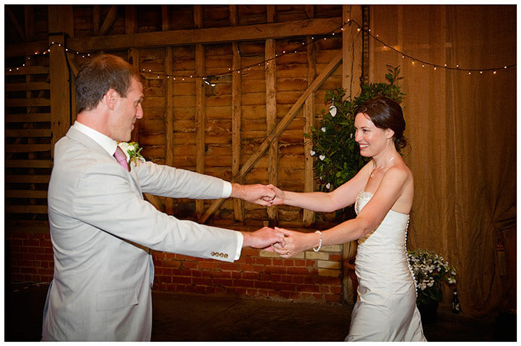Childerley Hall Summer Wedding bride groom first dance