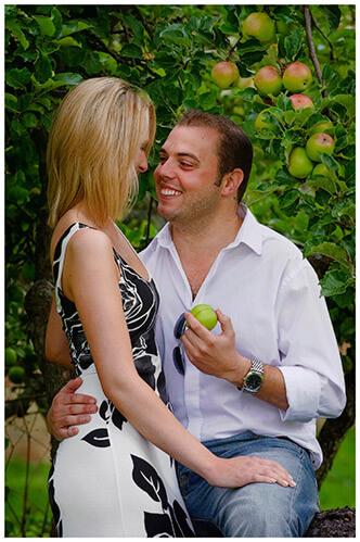 Pre-Wedding Photography shoot in Cambridgeshire romantic gaze
